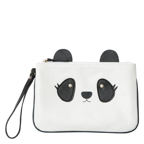 Brash Women's Panda Pouch Wristlet
