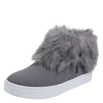 Brash Women's Eira Fur Cuff Sneaker