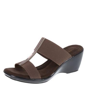 Comfort Plus By Predictions Women's Marisol Mid-wedge Sandal