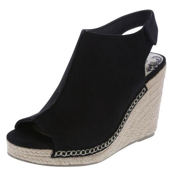 8e5d9c20da7 Brash Women's Otis Faux Suede High Wedge | LookMazing