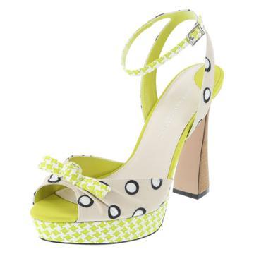 Christian Siriano For Payless Women's Christian Polka-dot Runway Platform Sandal