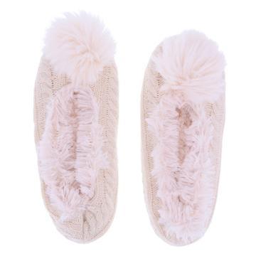 Minicci Women's Cable Soft-sole Slipper