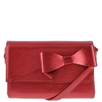 Minicci Women's Holiday Bow Crossbody Bag