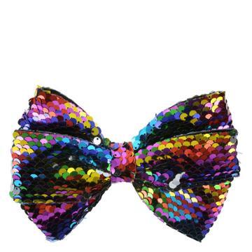 Minicci Women's Rainbow Reversible Hair Bow