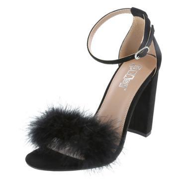 Brash Women's Faux Fur Houston Sandal