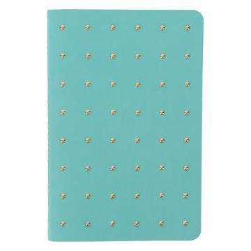 Payless Women's Aqua Stud Journal