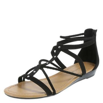 American Eagle Women's Sunray Braided Wedge Sandal