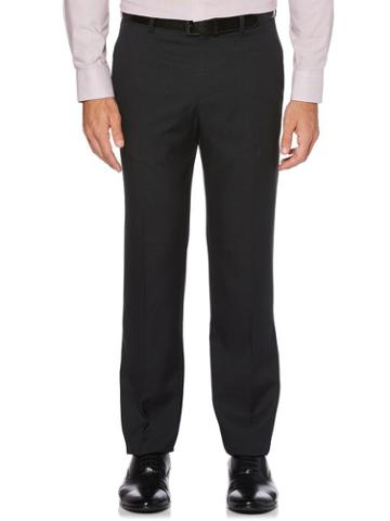 Perry Ellis Modern Fit Check Washable Suit Pant
