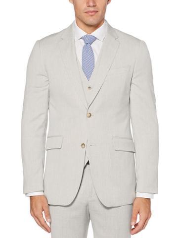 Perry Ellis Slim Fit End-on-end Suit Jacket