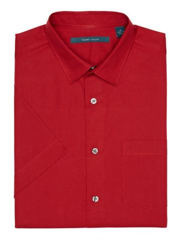 Perry Ellis Solid Dobby Shirt
