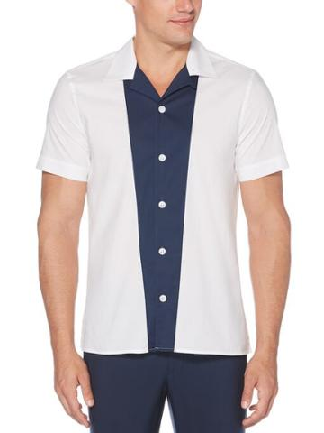 Perry Ellis Engineered Strip Soft Shirt