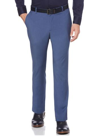 Perry Ellis Slim Fit Stretch Check Pant