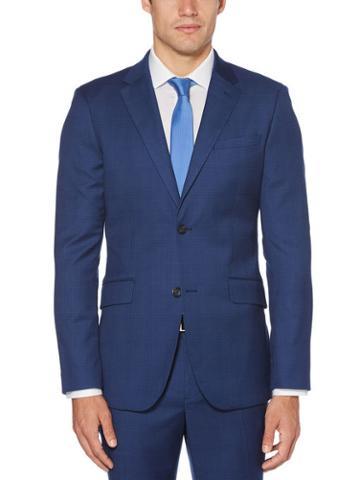 Perry Ellis Very Slim Fit Plaid Suit Jacket