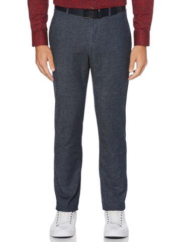 Perry Ellis Slim Fit Stretch Cotton Linen Suit Pant
