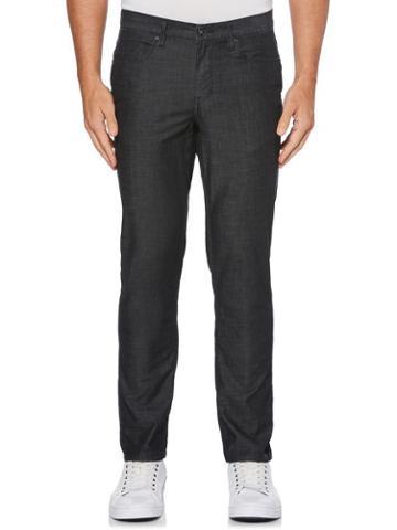 Perry Ellis Slim Fit Slub Lightweight Denim Jeans