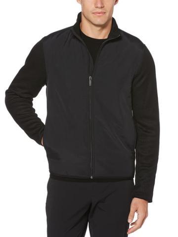 Perry Ellis Bonded Fleece Jacket