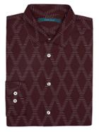Perry Ellis Chainlink Print Shirt