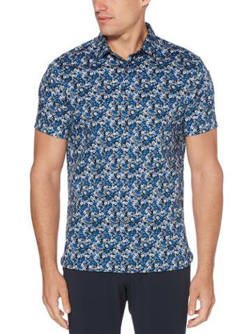 Perry Ellis Multi-color Floral Shirt