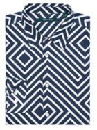 Perry Ellis Maze Print Shirt