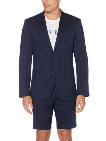 Perry Ellis Striped Stretch Jacket