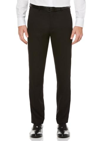 Perry Ellis Slim Fit Black Tuxedo Pant