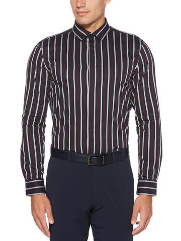 Perry Ellis Slim Fit Striped Shirt