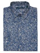 Perry Ellis Paisley Print Shirt