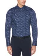 Perry Ellis Stretch Floral Print Shirt