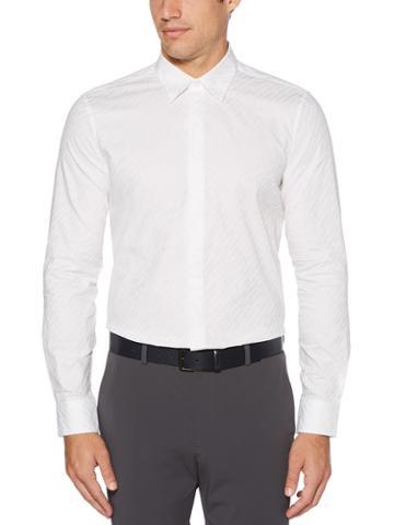 Perry Ellis Slim Fit Slant Print Shirt