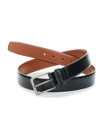 Perry Ellis Leather Stretch Belt