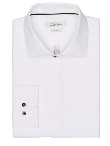 Perry Ellis Tuxedo Dress Shirt