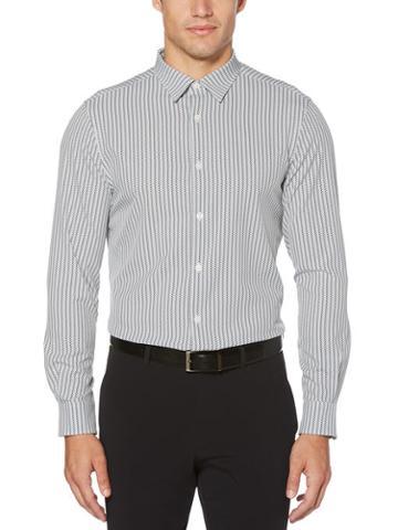 Perry Ellis Slim Fit Arrow Print Stretch Shirt