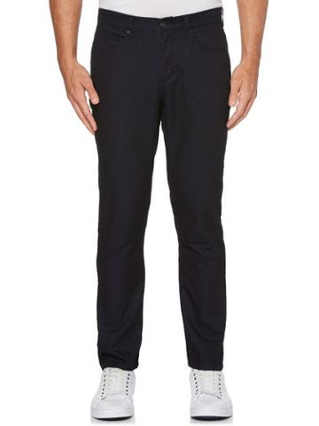 Perry Ellis Slim Fit Indigo Dot Denim Jeans