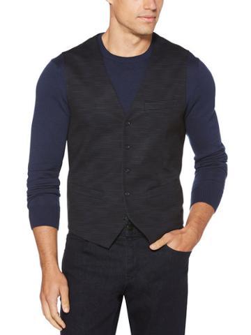 Perry Ellis Stretch Textured Vest