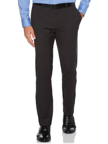Perry Ellis Slim Fit Heathered Check Suit Pant