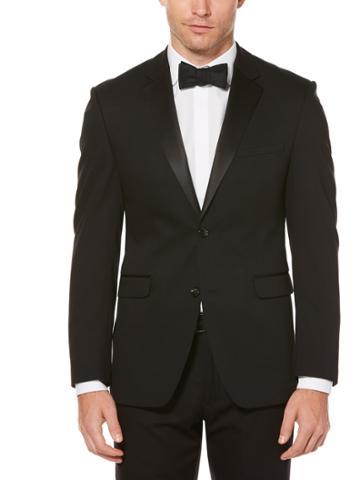 Perry Ellis Slim Fit Black Tuxedo Jacket