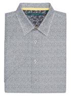 Perry Ellis Short Sleeve Tartan Plaid Shirt