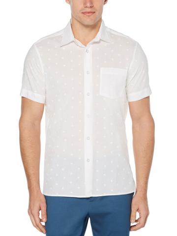 Perry Ellis Palm Paradise Print Shirt