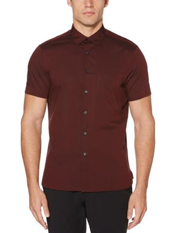 Perry Ellis Short Sleeve Solid Shirt