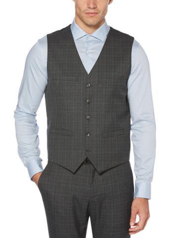 Perry Ellis Slim Fit Tech Washable Vest