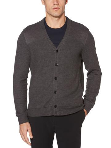 Perry Ellis Button Down Cardigan