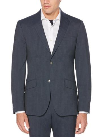 Perry Ellis Slim Fit Stripe Washable Suit Jacket