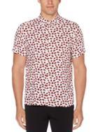 Perry Ellis Cherry Blossom Print Shirt