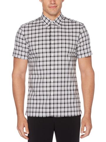 Perry Ellis Multi-color Check Soft Shirt