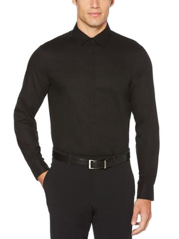 Perry Ellis Resist Spill Solid Shirt