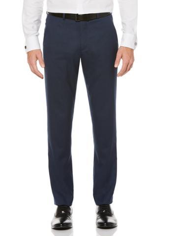 Perry Ellis Slim Fit Blue Tuxedo Pant