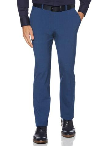 Perry Ellis Slim Fit Washable Solid Suit Pant