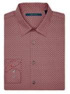 Perry Ellis Diamond Print Shirt