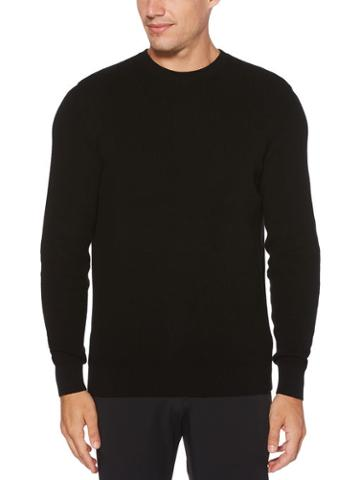 Perry Ellis Solid Ribbed Sweater