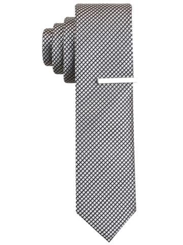 Perry Ellis Triton Check Tie